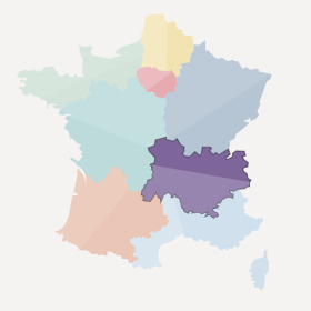 Rhône-Alpes et Auvergne