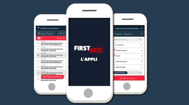 l'application mobile First ECO et la géolocalisation, pour votre prospection et votre stratégie commerciale